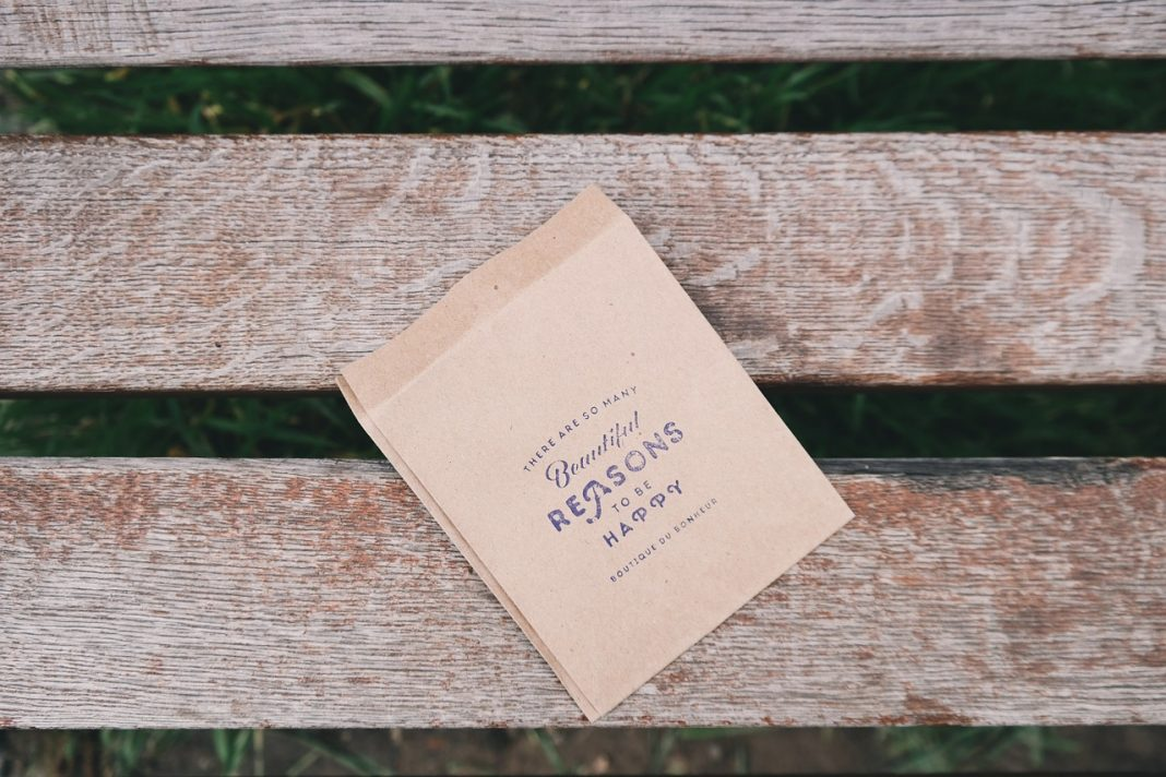 bench and gratitude